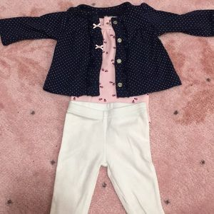 Other - 3 piece newborn outfit